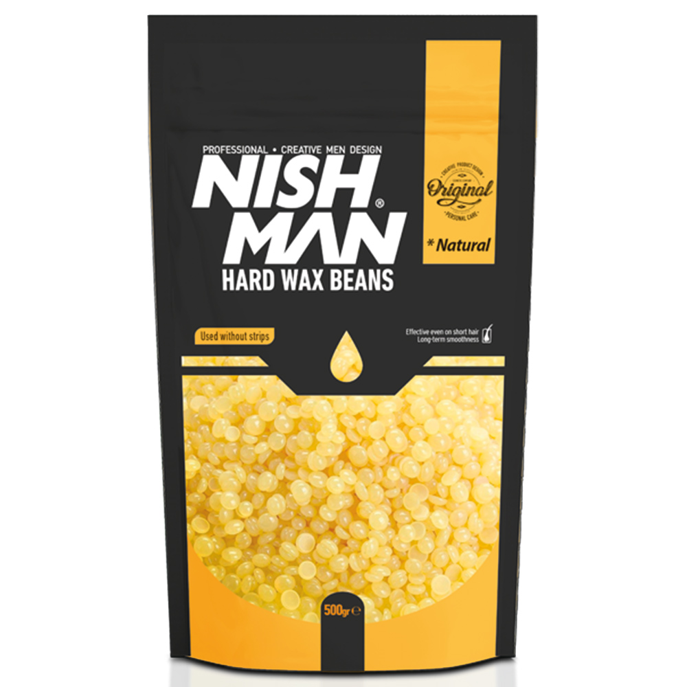 NISHMAN HAIR REMOVAL BEAN WAX NATURAL – 500gr
