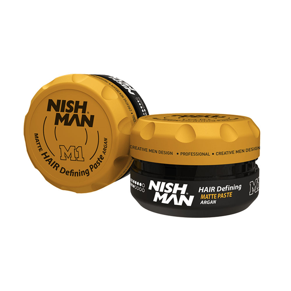 NISHMAN MATTE HAIR DEFINING PASTE ARGAN M1 -100ml