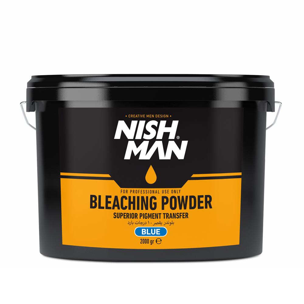 NISHMAN BLEACHING POWDER BLUE – 2000gr